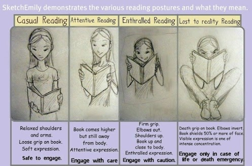 Reading can be dangerous
