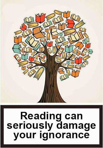 Reading Can Seriously Damage.......