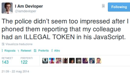 illegal token