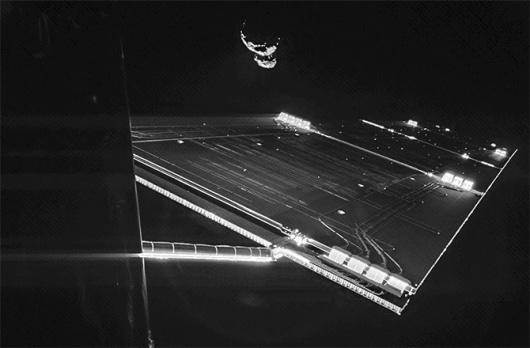 il selfie di Philae