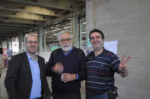 Elia Bellussi, Roberto Dadda, Andrea Poltronieri.