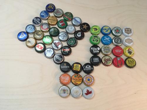 Pythagorean Beer Caps