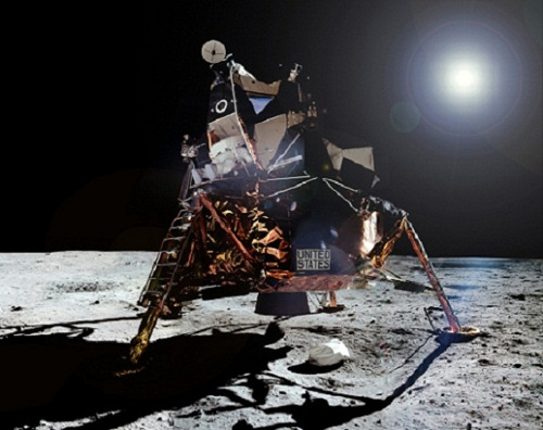 Image-of-eagle-on-the-moon