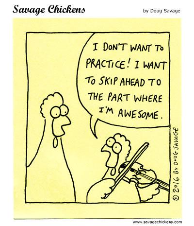 chickenpractice