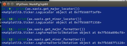 NumPy – 80 – personalizzare le scale   Ok, panico