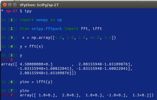 SciPy – 27 – trasformate di Fourier – 1 | Ok, panico