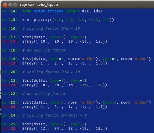 SciPy – 28 – trasformate di Fourier – 2 | Ok, panico
