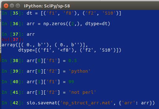 SciPy – 58 – File IO – interagire con MATLAB-Octave | Ok, panico