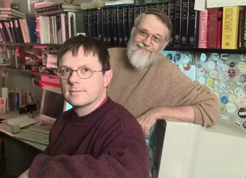 Brian Kernighan and Rob Pike
