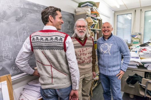 Jens Vigen, John Ellis and Mick Storr